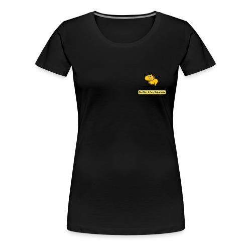 Transparent avec Logo - T-shirt Premium Femme