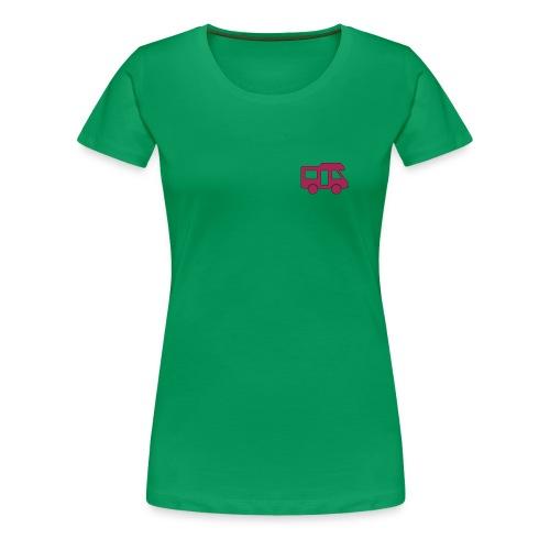 Camper logo by eland apps - Women's Premium T-Shirt