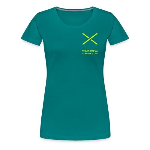 Vidarbodua Stabfechter - Frauen Premium T-Shirt