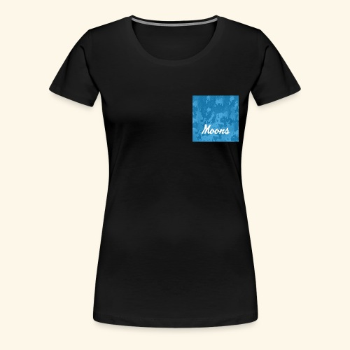 Moons rasgado - Camiseta premium mujer