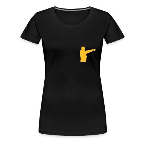 peker - Premium T-skjorte for kvinner