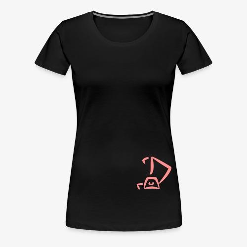 Strandkorb Logo - Frauen Premium T-Shirt