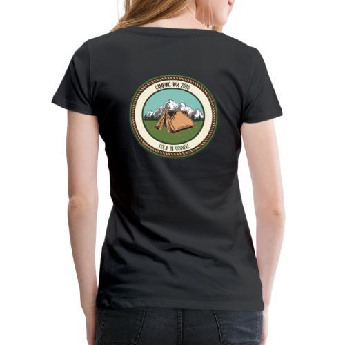 Sola 20 Camping WM - Frauen Premium T-Shirt