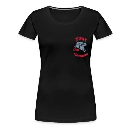 tdg8cm - Frauen Premium T-Shirt