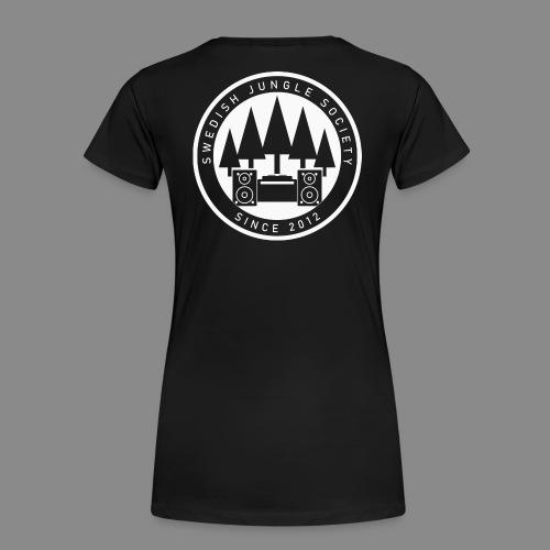 Forest Ravers - White - Women's Premium T-Shirt