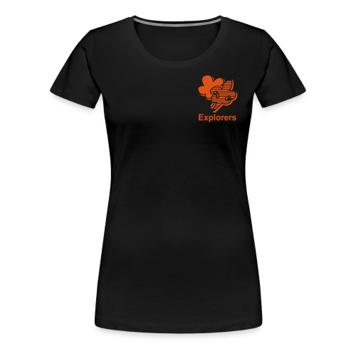 Explorers - Vrouwen Premium T-shirt