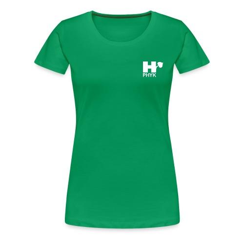 PHYK H-logo - Naisten premium t-paita
