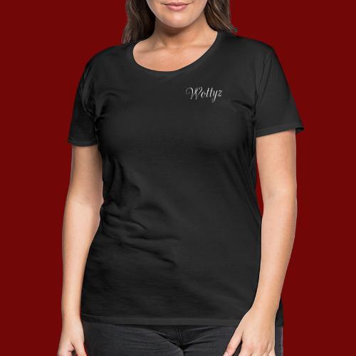 Wottyz First Edition - Women's Premium T-Shirt