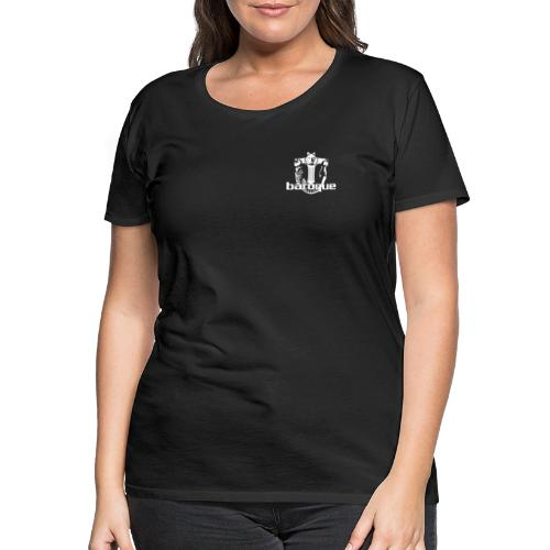 Baroque Records Logo Small - Frauen Premium T-Shirt