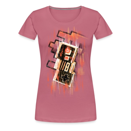 Blurry NES - Women's Premium T-Shirt