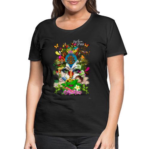 Parfum d'été by T-shirt chic et choc (tissu foncé) - T-shirt Premium Femme