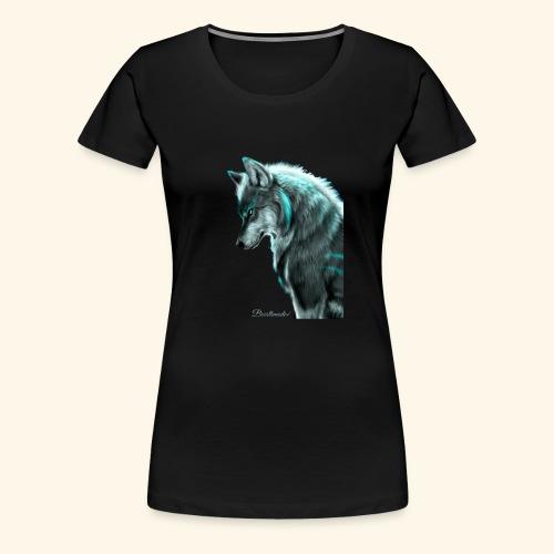 Breathmode wolf - T-shirt Premium Femme