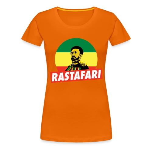 Haile Selassie - Emperor of Ethiopia - Rastafari - Frauen Premium T-Shirt