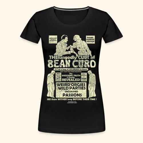 Veggie T Shirt Design Bean Curd Film Poster Spoof - Frauen Premium T-Shirt
