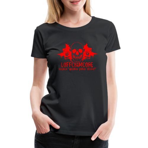 Loffciamcore Red - Koszulka damska Premium