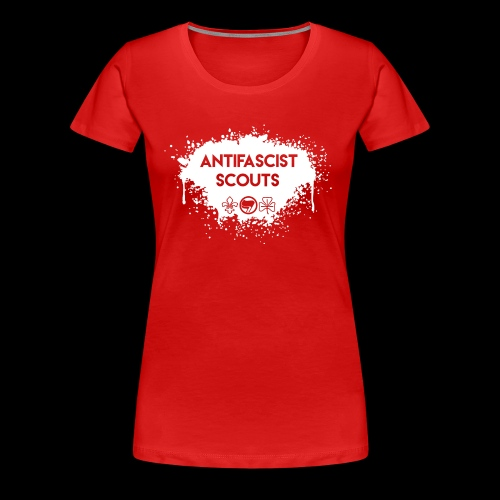 Antifascist Scouts - Women's Premium T-Shirt