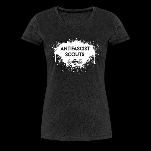 Antifascist Scouts - Women's Premium T-Shirt