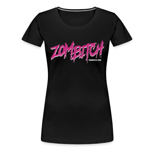 Zombitch logo black