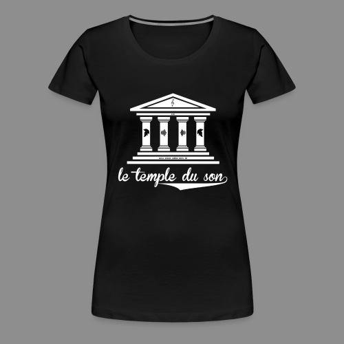 The Classic Collection Temple - Women's Premium T-Shirt