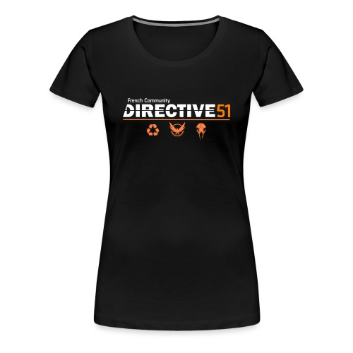 D51recy png - T-shirt Premium Femme