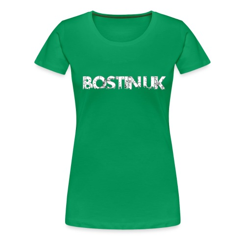 bostin uk white - Women's Premium T-Shirt