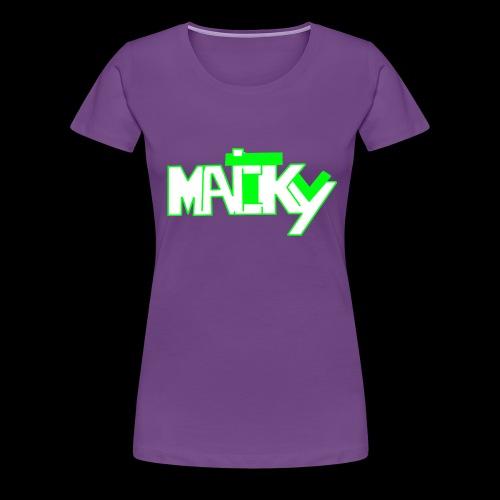 MaickyTv Grün - Frauen Premium T-Shirt
