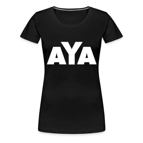 ayaweiss - Frauen Premium T-Shirt