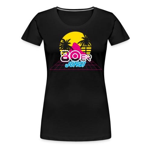 80er JÜNGI - Frauen Premium T-Shirt