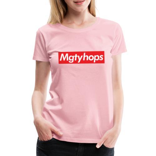 Mgtyhops Red bar - Premium-T-shirt dam