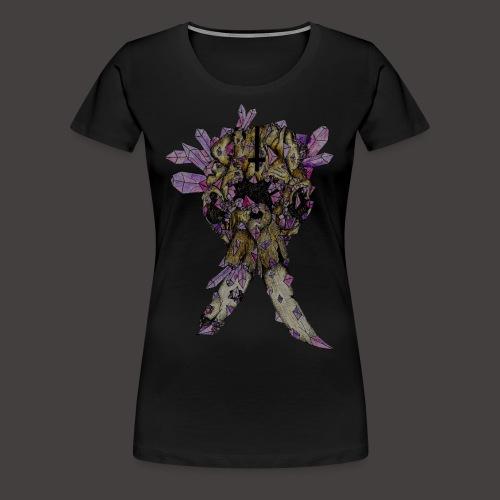 L'éléphant de Cristal Creepy - T-shirt Premium Femme