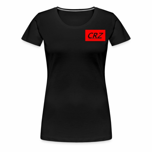 red crz patch - Women's Premium T-Shirt
