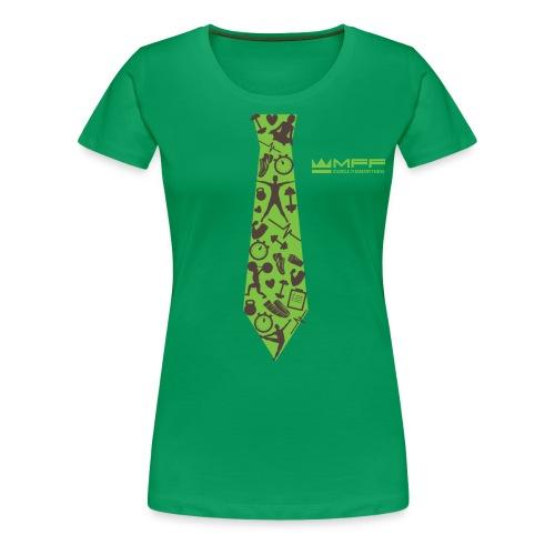 MFF Tie Design - Frauen Premium T-Shirt