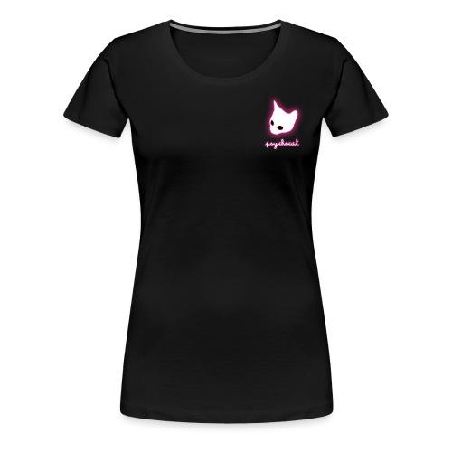 psychocat - T-shirt Premium Femme