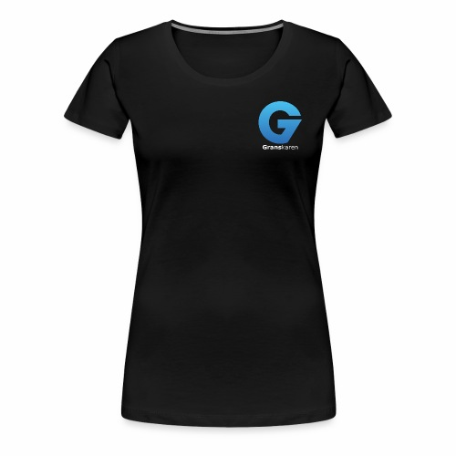 Granskaren Logo - Premium T-skjorte for kvinner
