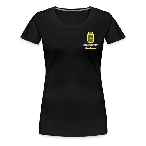 GagaGarden secondløitnant - Premium T-skjorte for kvinner