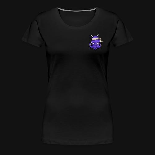 LOGO ZEPHYR SIMPLE COLOR - T-shirt Premium Femme