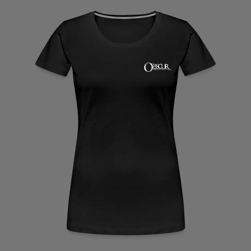 Petit logo Obscur - T-shirt Premium Femme
