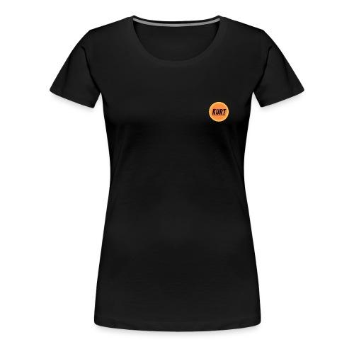 Kurt's Nye Logo - Dame premium T-shirt