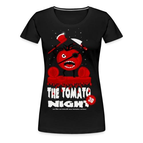 Tomatoe Night - T-shirt Premium Femme
