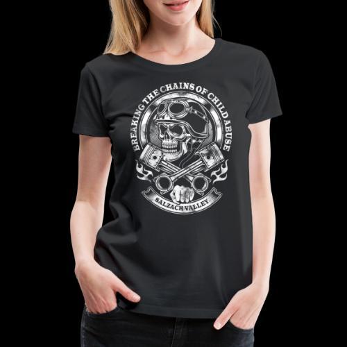 Skull Head - Frauen Premium T-Shirt