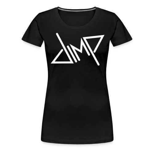 dimp Logo black - Frauen Premium T-Shirt