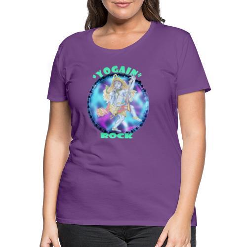 YogaIn Rock - Maglietta Premium da donna