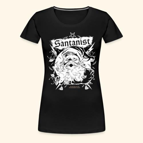 Ugly Christmas Santa Design Santanist - Frauen Premium T-Shirt