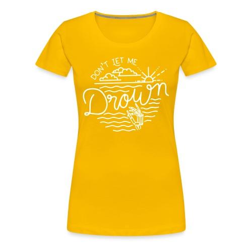 DNTL - Camiseta premium mujer