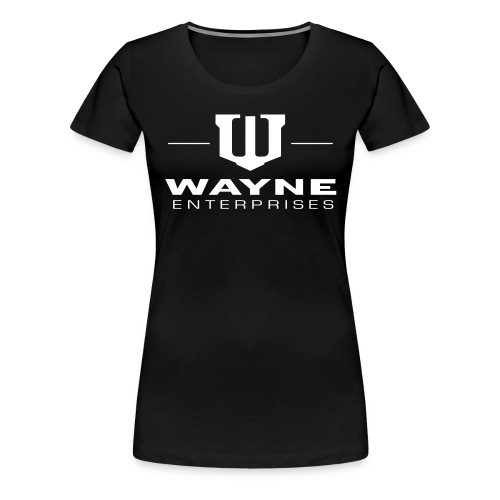Batman Wayne Enterprises Logo - Frauen Premium T-Shirt