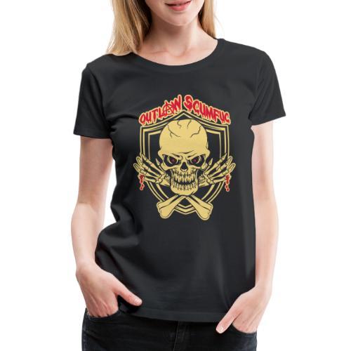 Outlaw Scumfuc - Frauen Premium T-Shirt