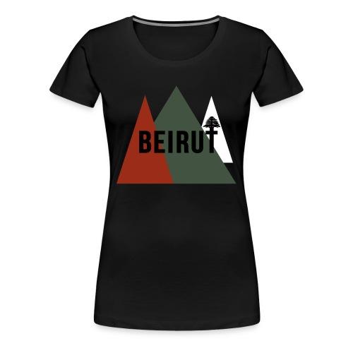 BEIRUT - T-shirt Premium Femme
