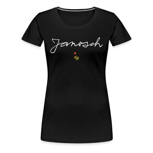 Janosch Schriftzug mit Tigerente - Frauen Premium T-Shirt
