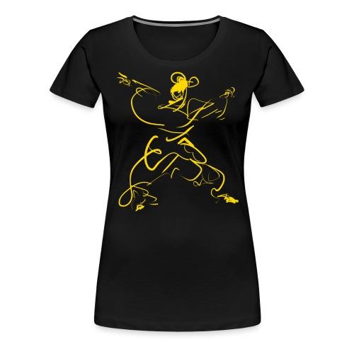 Kungfu figure - Women's Premium T-Shirt