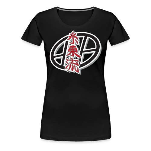 Shito ryu Kanji - T-shirt Premium Femme